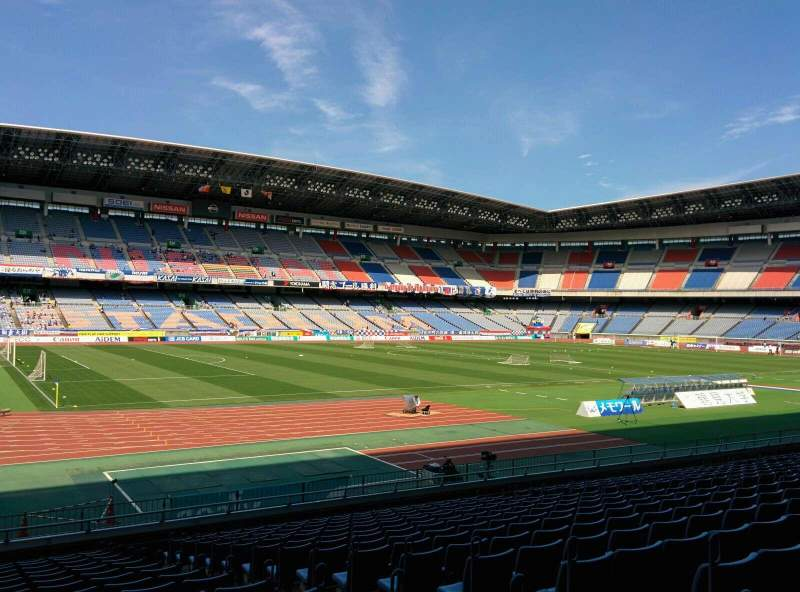 Seating view for Nissan Stadium (Yokohama) Section SS Row 16 Seat 212