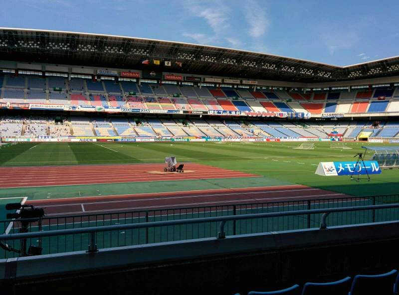 Seating view for Nissan Stadium (Yokohama) Section SS Row 4 Seat 249