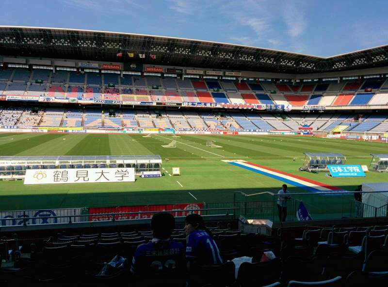 Seating view for Nissan Stadium (Yokohama) Section SS Row 12 Seat 343