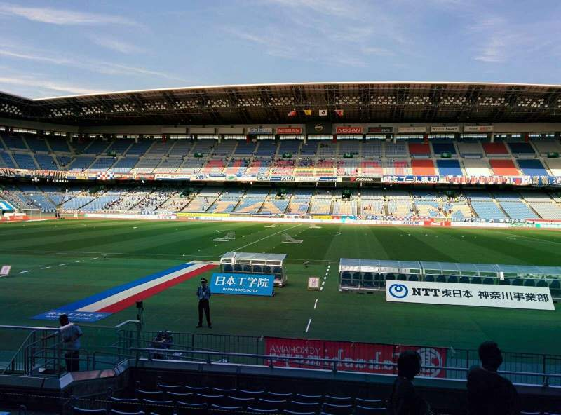 Seating view for Nissan Stadium (Yokohama) Section SS Row 11 Seat 427