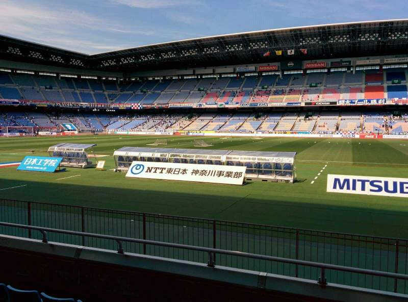Seating view for Nissan Stadium (Yokohama) Section SS Row 5 Seat 460