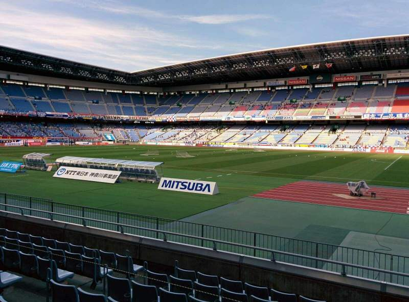 Seating view for Nissan Stadium (Yokohama) Section ss Row 8 Seat 529