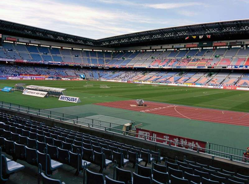 Seating view for Nissan Stadium (Yokohama) Section SS Row 11 Seat 567