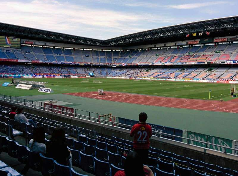 Seating view for Nissan Stadium (Yokohama) Section SS Row 9 Seat 614