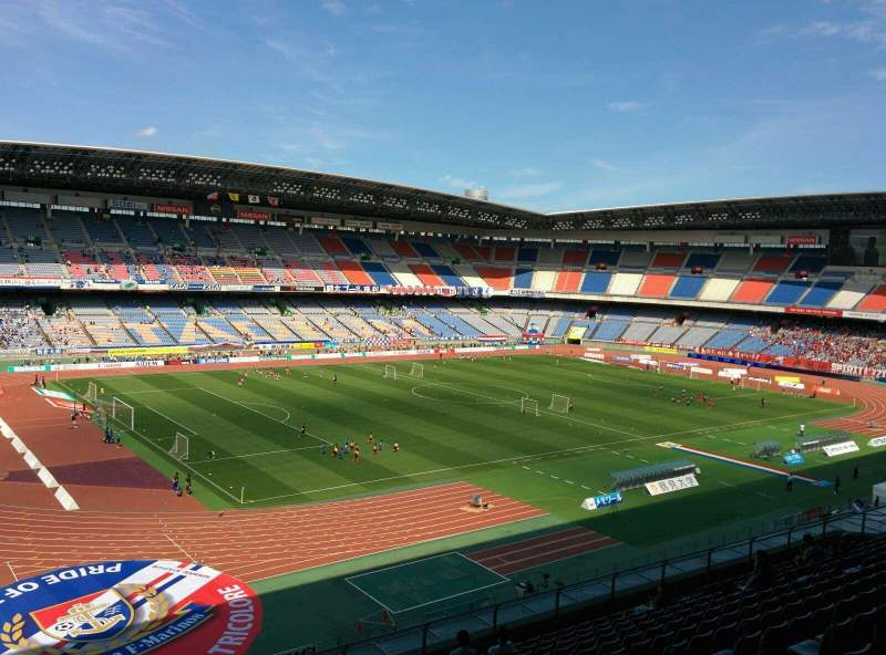 Seating view for Nissan Stadium (Yokohama)