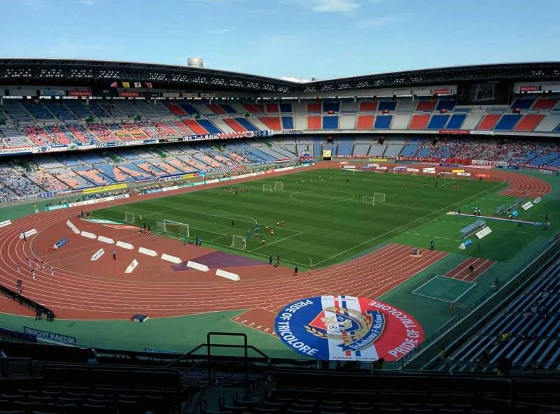 Seating view for Nissan Stadium (Yokohama) Section S Row 23 Seat 564