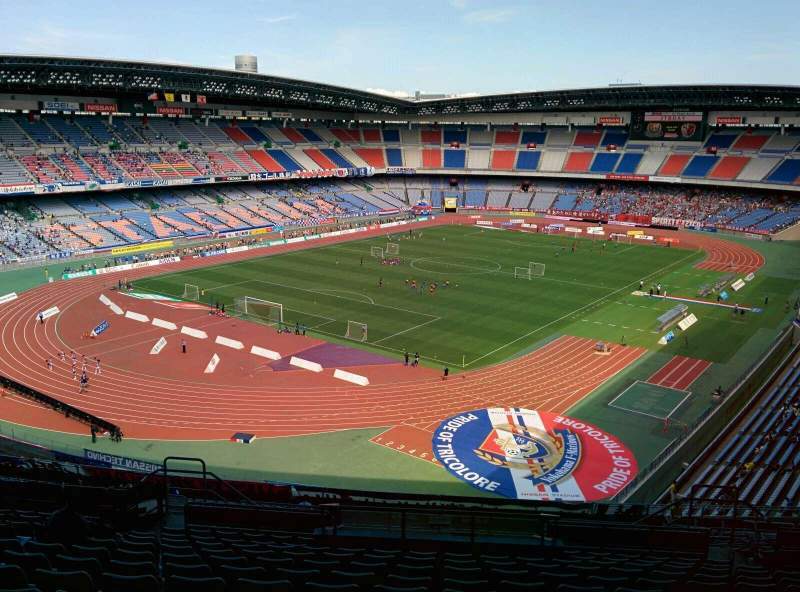 Seating view for Nissan Stadium (Yokohama) Section S Row 26 Seat 541