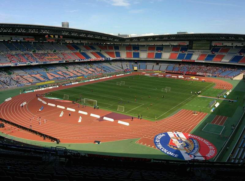 Seating view for Nissan Stadium (Yokohama) Section S Row 28 Seat 513