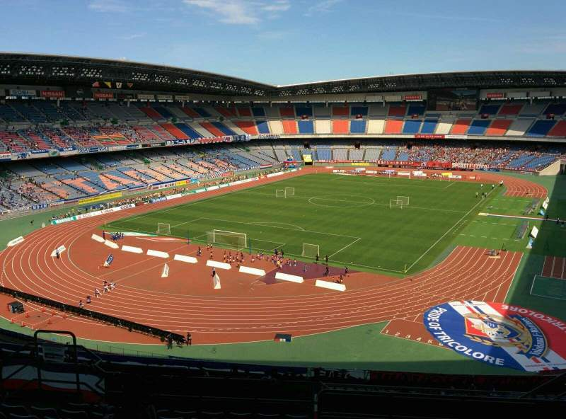 Seating view for Nissan Stadium (Yokohama) Section S Row 22 Seat 472