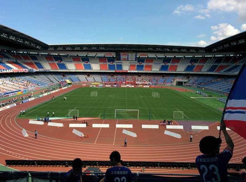 Seating view for Nissan Stadium (Yokohama) Section S Row 6 Seat 306