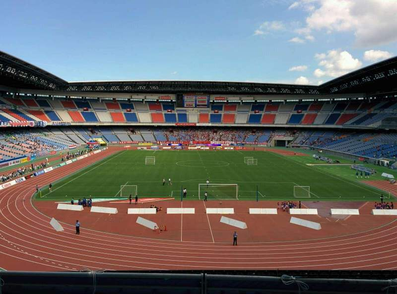 Seating view for Nissan Stadium (Yokohama) Section S Row 4 Seat 258