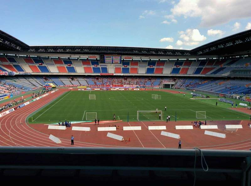 Seating view for Nissan Stadium (Yokohama) Section S Row 2 Seat 236
