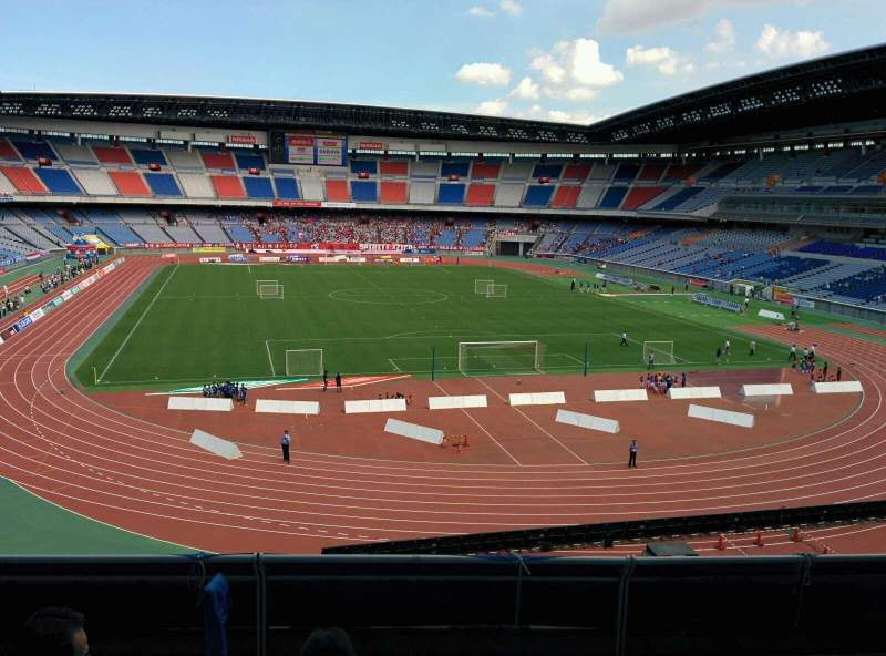 Seating view for Nissan Stadium (Yokohama) Section S Row 5 Seat 210