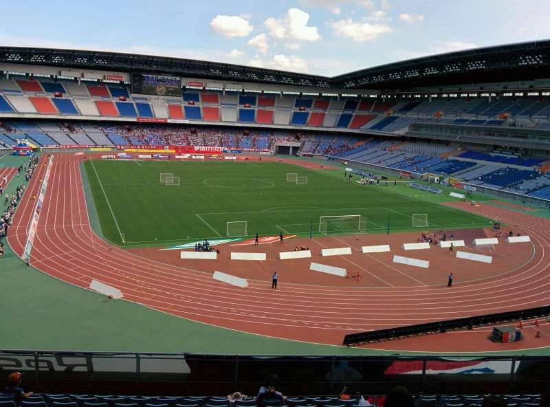 Seating view for Nissan Stadium (Yokohama) Section S Row 11 Seat 144