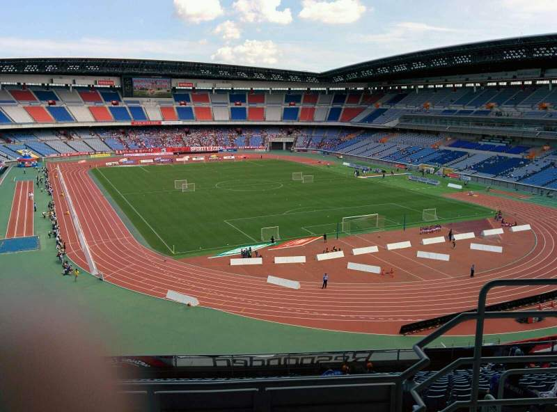 Seating view for Nissan Stadium (Yokohama) Section S Row 17 Seat 117