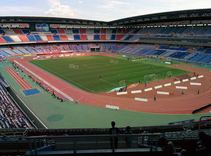 Seating view for Nissan Stadium (Yokohama) Section S Row 21 Seat 21
