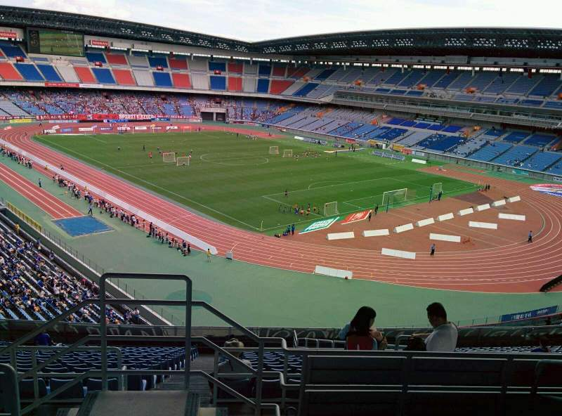 Seating view for Nissan Stadium (Yokohama) Section S Row 18 Seat 741