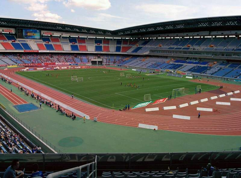 Seating view for Nissan Stadium (Yokohama) Section S Row 11 Seat 1
