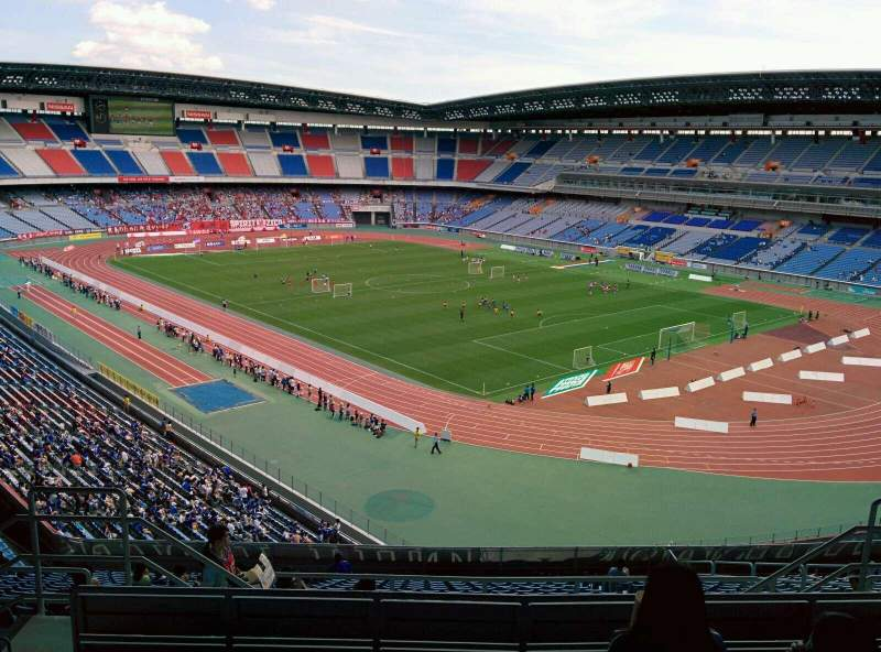 Seating view for Nissan Stadium (Yokohama) Section S Row 20 Seat 726
