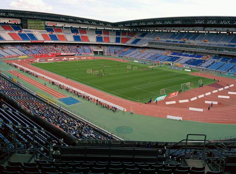 Seating view for Nissan Stadium (Yokohama) Section S Row 22 Seat 708