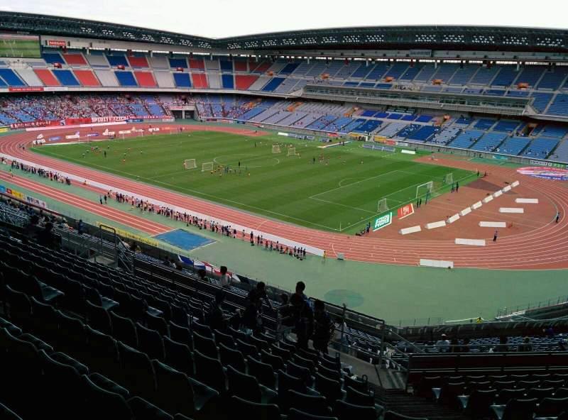 Seating view for Nissan Stadium (Yokohama) Section S Row 25 Seat 677