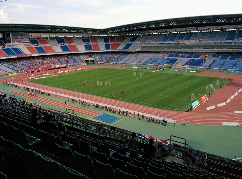 Seating view for Nissan Stadium (Yokohama) Section S Row 24 Seat 648