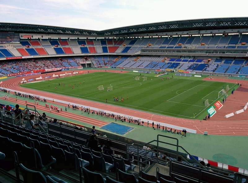 Seating view for Nissan Stadium (Yokohama) Section S Row 21 Seat 626