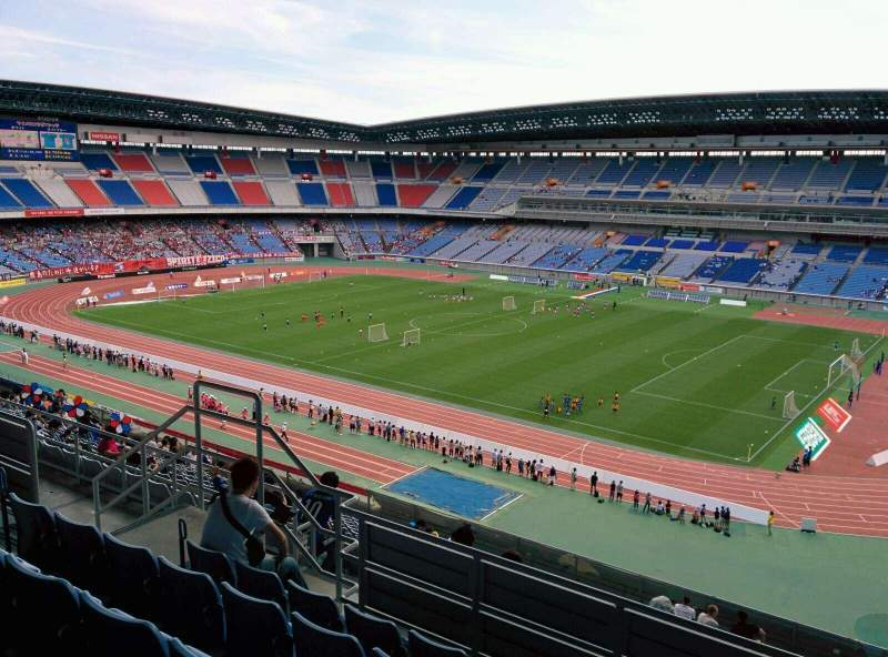 Seating view for Nissan Stadium (Yokohama) Section S Row 18 Seat 611