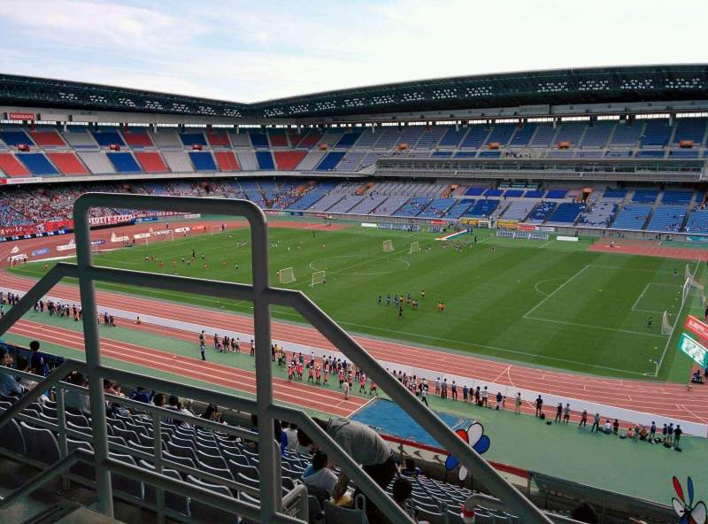 Seating view for Nissan Stadium (Yokohama) Section S Row 15 Seat 563
