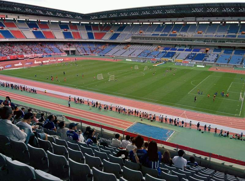 Seating view for Nissan Stadium (Yokohama) Section S Row 13 Seat 551
