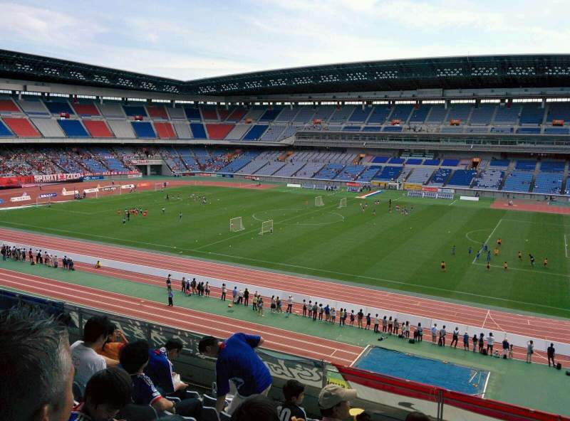 Seating view for Nissan Stadium (Yokohama) Section S Row 8 Seat 530