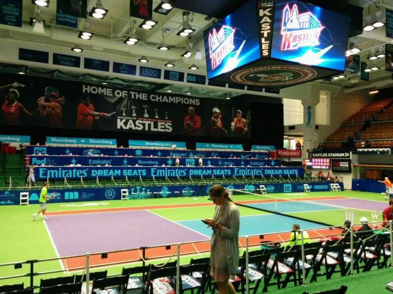 Seating view for Kastles Stadium Section 113 Row D Seat 6