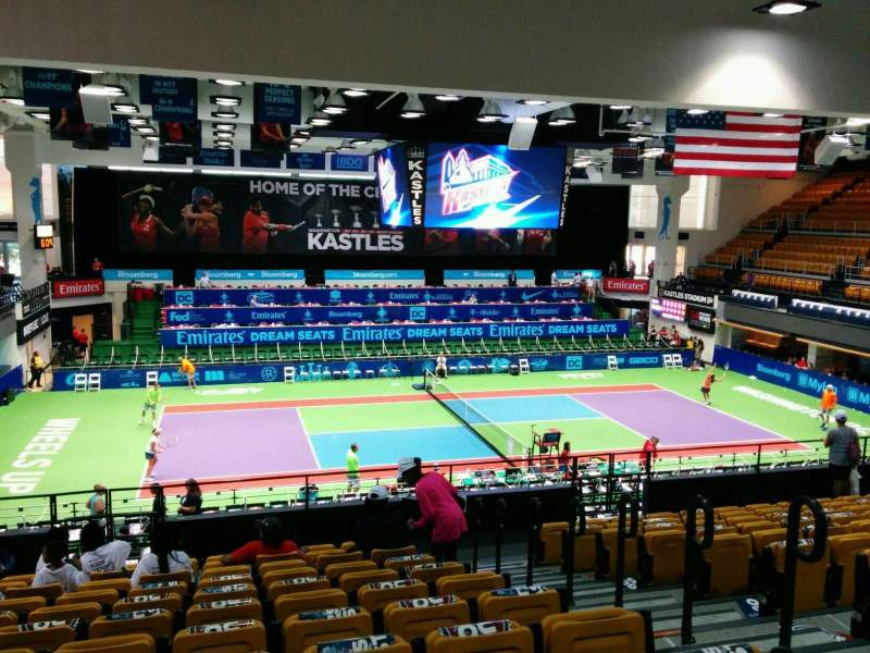 Seating view for Kastles Stadium Section 216 Row M Seat 4