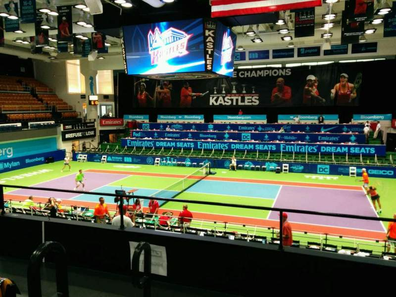 Seating view for Kastles Stadium Section 213 Row D Seat 10