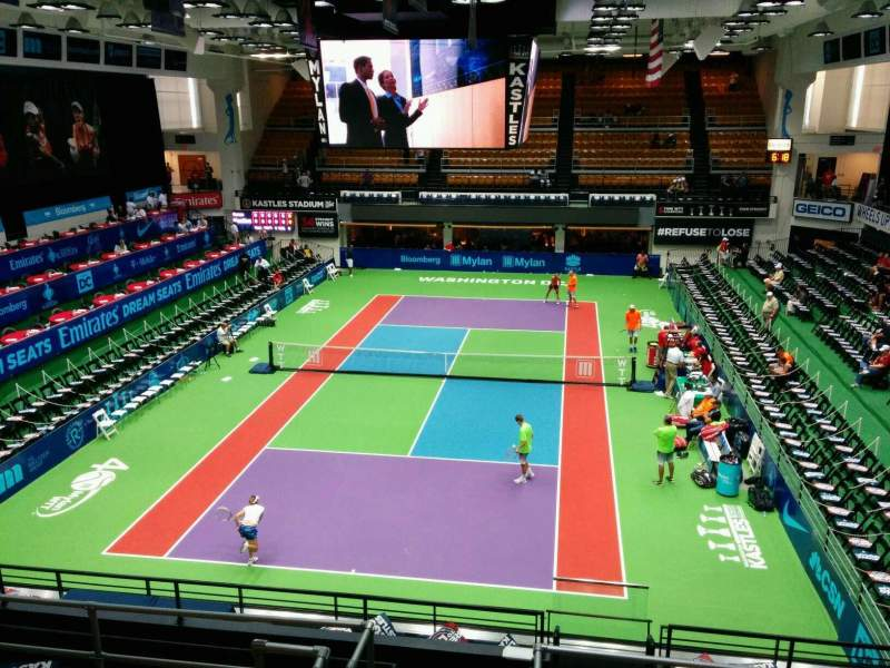 Seating view for Kastles Stadium Section 219 Row G Seat 15