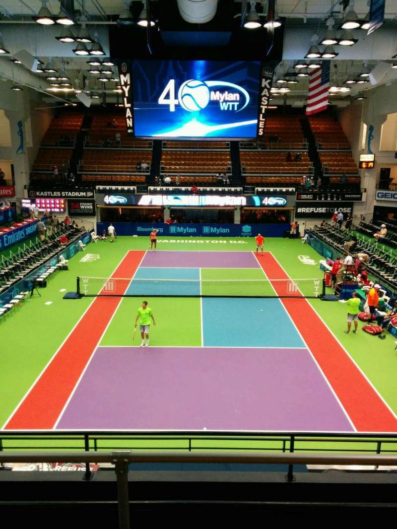 Seating view for Kastles Stadium Section 220 Row D Seat 8