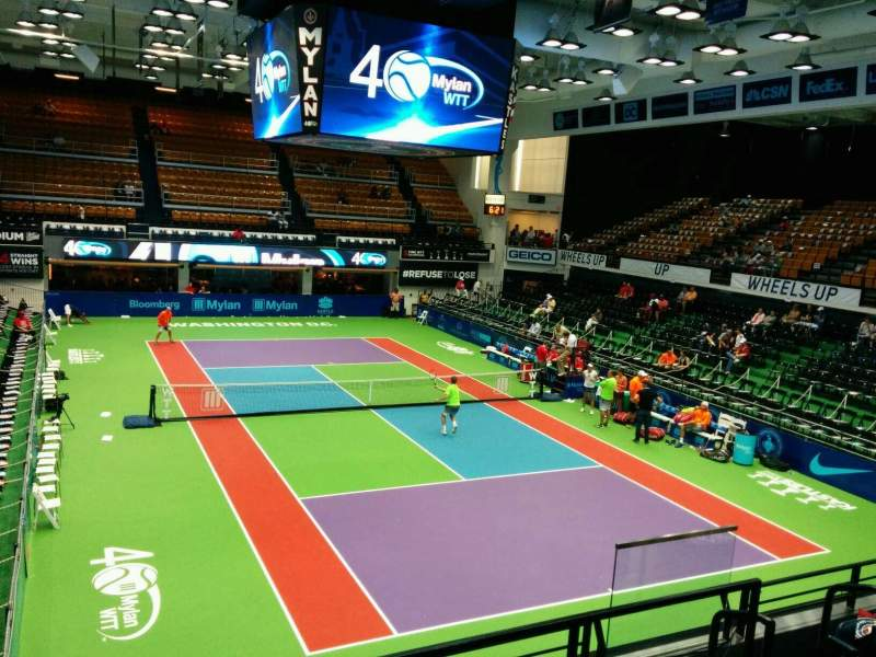 Seating view for Kastles Stadium Section 221 Row B Seat 8