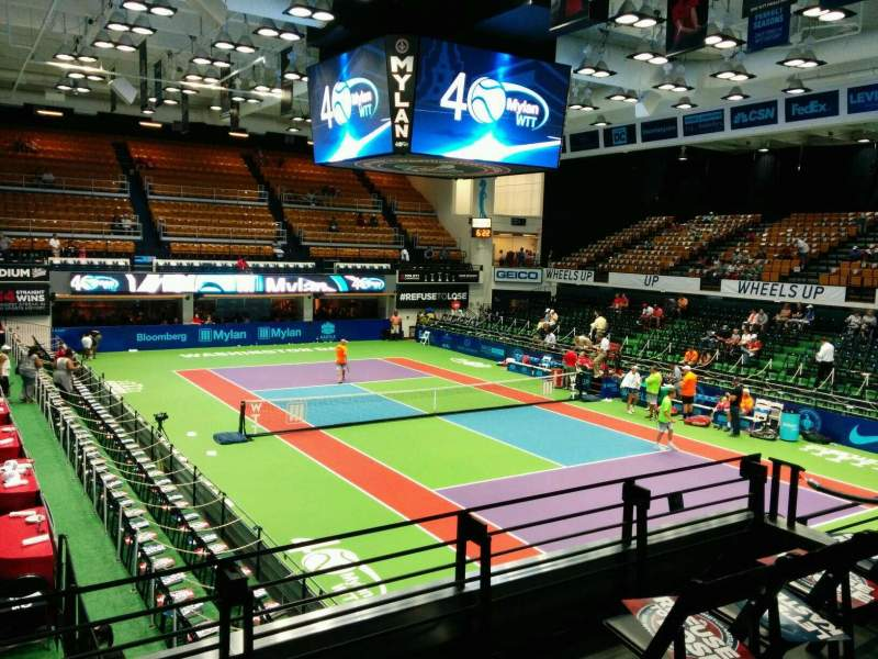Seating view for Kastles Stadium Section 222 Row A Seat 1