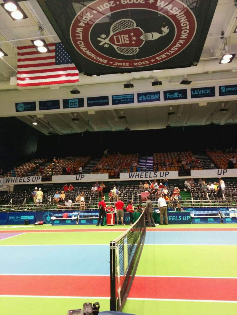 Seating view for Kastles Stadium Section Box 15 Row 2 Seat 2