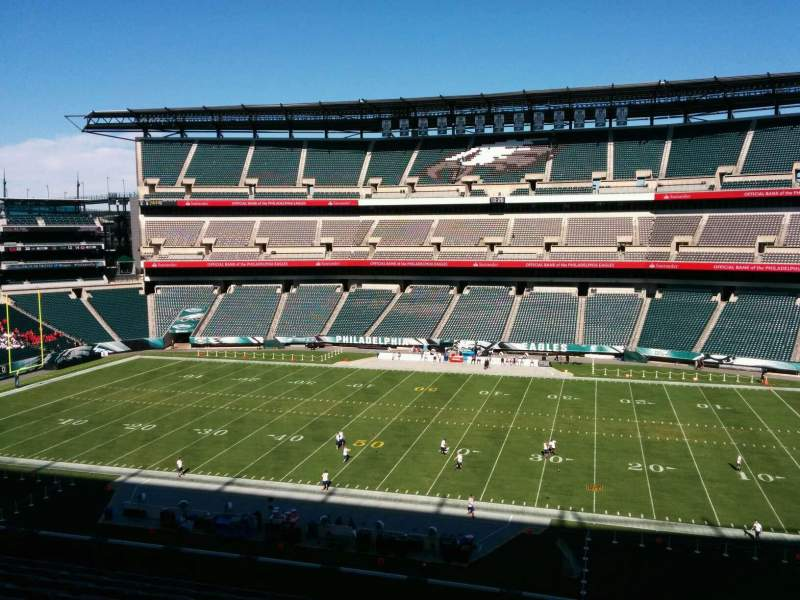 Seating view for Lincoln Financial Field Section c2 Row 15 Seat 4