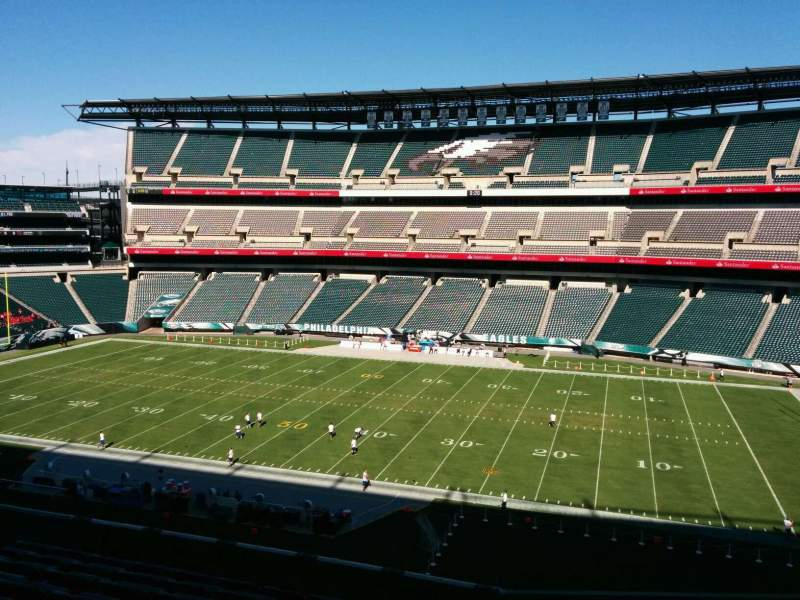 Seating view for Lincoln Financial Field Section c3 Row 14 Seat 16