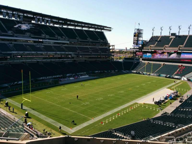 Seating view for Lincoln Financial Field Section c15 Row 14 Seat 12