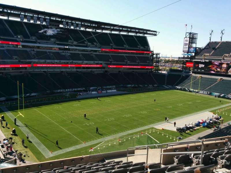 Seating view for Lincoln Financial Field Section c16 Row 17 Seat 7