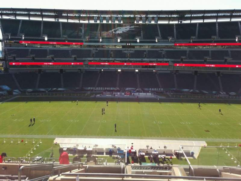 Lincoln Financial Field, section: c22, row: 14, seat: 29
