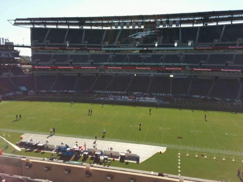 Seating view for Lincoln Financial Field Section c23 Row 11 Seat 17