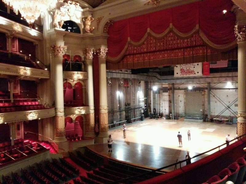 Seating view for Academy of Music Section balcony c Row b Seat 26