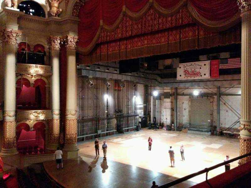 Seating view for Academy of Music Section balcony b Row bb Seat 16