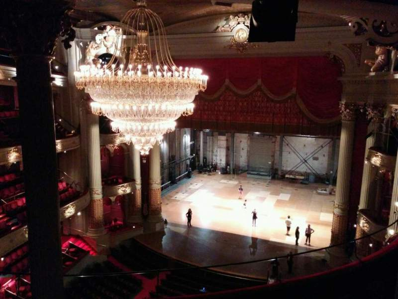 Seating view for Academy of Music Section family circle d Row f Seat 12