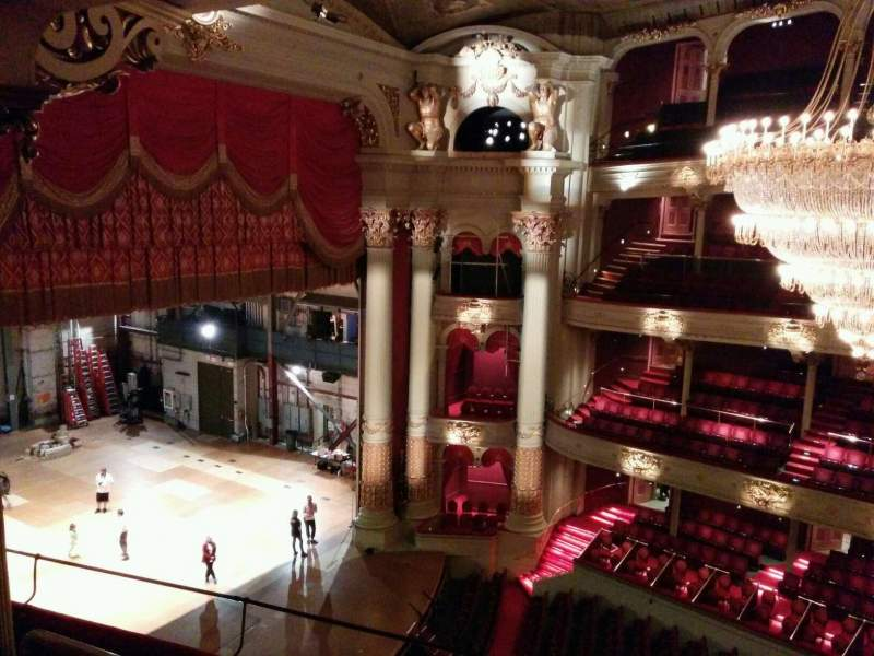 Seating view for Academy of Music Section family circle h Row e Seat 51