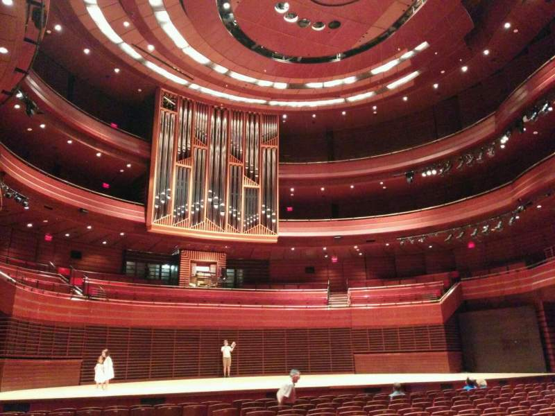 Seating view for Verizon Hall at the Kimmel Center Section Orchestra Row R Seat 9